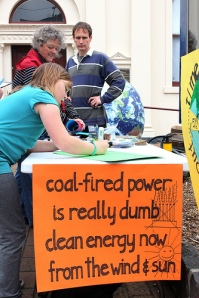 Climate Action Moreland stall