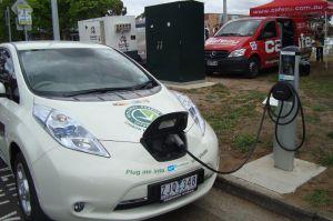 Moreland Council electric car recharging at Fawkner