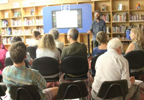 Brian Bainbridge on Pollen Pathways at Fawkner Library