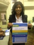 Samantha Ratnam from The Greens signed the ACF Pledge