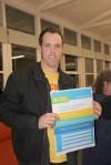 Zane Alcorn from Socialist Alliance signed the ACF Pledge